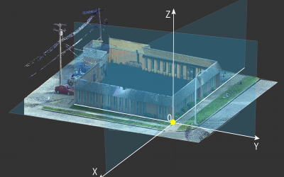 Understanding Point Cloud Alignment & Coordinate Systems